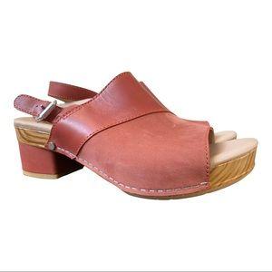 Dansko New Women's Sandal Madalyn Leather Cinnamon size 38